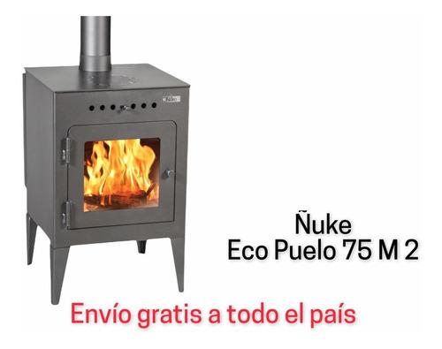 Calefactor A Leña Alto Rendimiento Ñuke Eco-puelo 8500k/cal