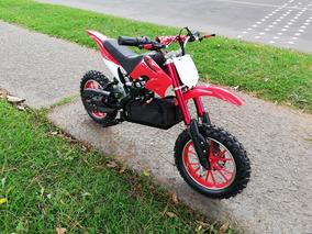 Mini Moto Niños Electrica Motor 800w