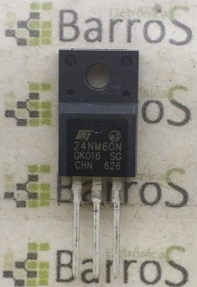 10 X 24NM60N 600V 17A F24NM60N canal N potencia MOSFET STF24NM60N TO-220F
