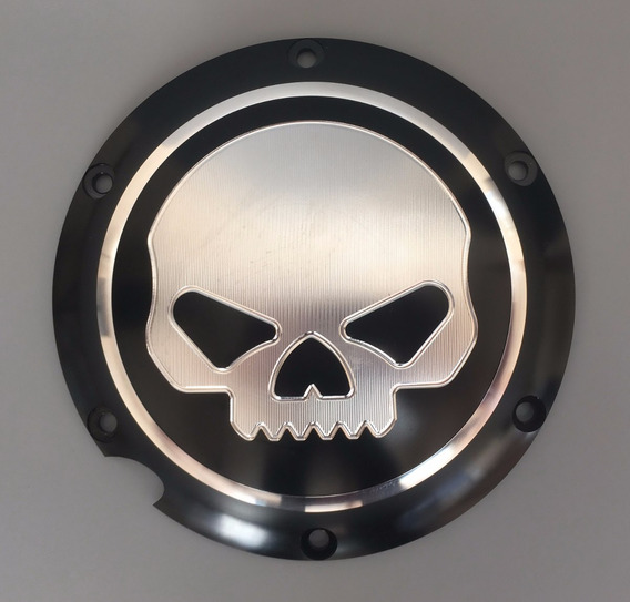 Harley Davidson willie g Skull calavera HD key Chain llavero remolque