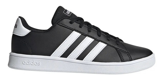 Zapatillas adidas Grand Court K Niño/a - Ngro/bco