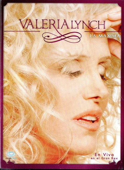 Valeria Lynch La Maxima Gran Rex Cd + Dvd - Los Chiquibum