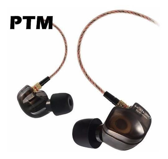 Fone In Ear Kz Comeu Hi-fi Bass - Retorno Monitor Palco Cod1