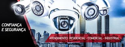Instalação De Câmeras De Segurança E Ar Condicionado