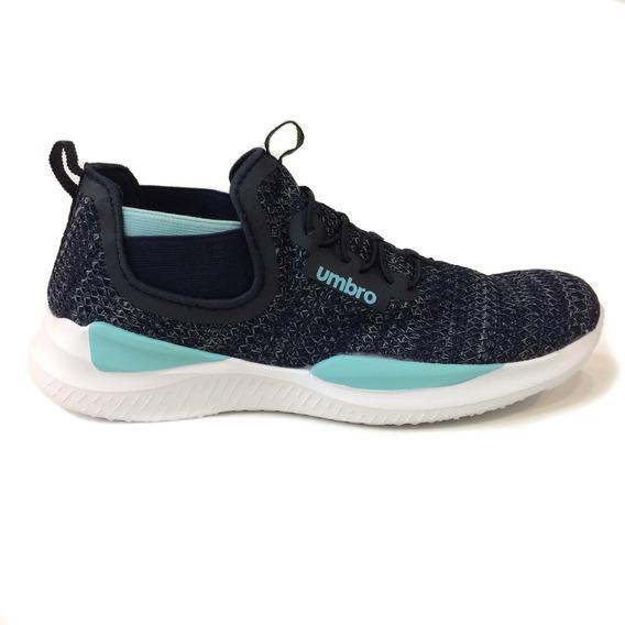Zapatos Umbro Originales Damas - Um16763w - Navy Baby Blue