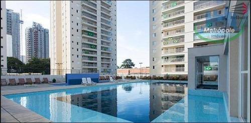 Apartamento À Venda, 86 M² Por R$ 580.000,00 - Vila Antonieta - Guarulhos/sp - Ap0883