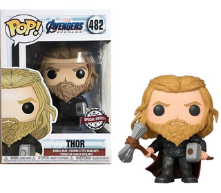 Funko Pop #482 Thor - Marvel Avengers End Game - Especial Ed