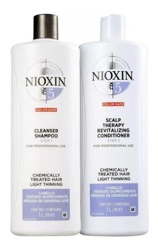 Nioxin Sistema Nº5 Kit Shampoo 1000ml + Condicionado 1000ml