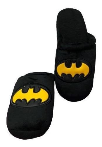 Pantuflas Bordadas Batman