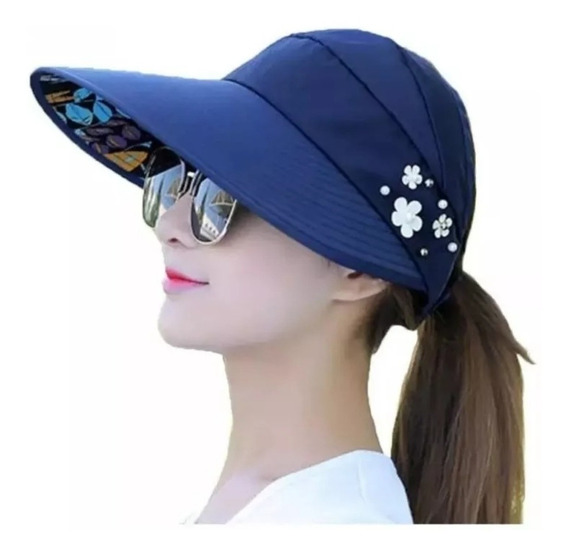 Sombrero Tipo Visera Protector Solar Anti Rayos Uv