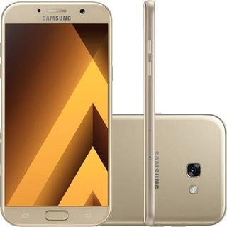 Samsung Galaxy A7 2017 32 Gb - Dourado - Produto Usado!