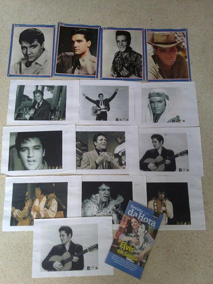 Revista Da Hora/ Posters/xerox Elvis Presley