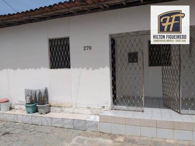 Casa Com 3 Dormitórios À Venda, 10x20 M² Por R$ 320.000 - Bancários - João Pessoa/pb Aceita Financiamento - Ca0753