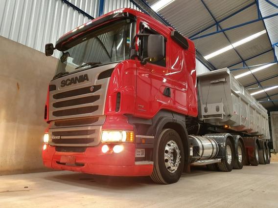Scania 124 R440 6x4 Ano 2013/2013 Impecável Com Retarder