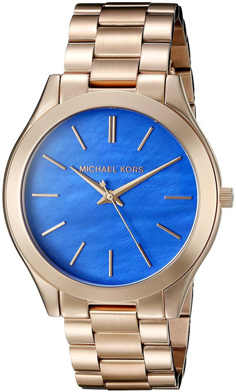 Relógio Michael Kors Slim Runway Dourado Mk3494/4ai