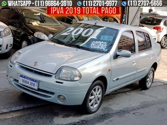 Renault Clio Sedan 1.0 16v Rt 4p