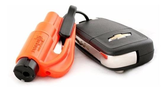 Llavero 2 En 1 Kit De Emergencia Para Autos Rompe Vidrios