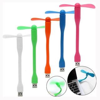 Mini Ventilador Flexível Para Celular Usb