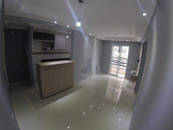 Apartamento Com 2 Dormitórios À Venda, 56 M² Por R$ 280.000,00 - Vila Assis Brasil - Mauá/sp - Ap0370