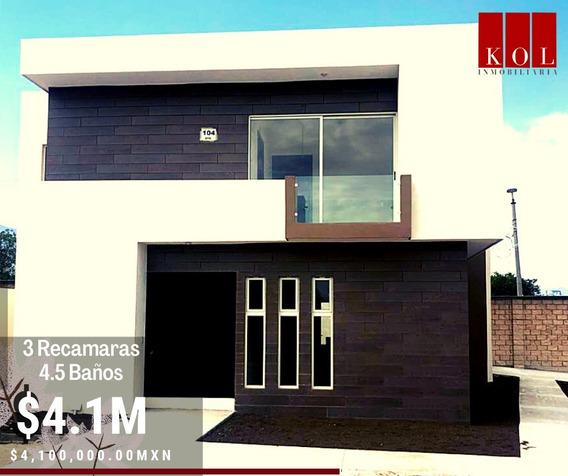 Casa Nueva En Venta 3 Recamaras 4.5 Baños La Escondida
