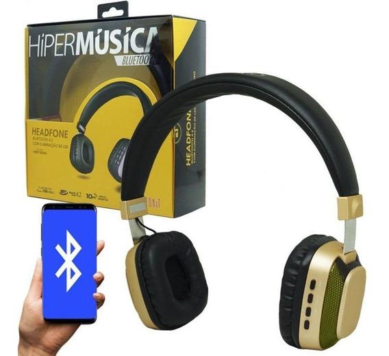 Fone De Ouvido Infokit 4.2 Bluetooth Híper Música Hbt 240