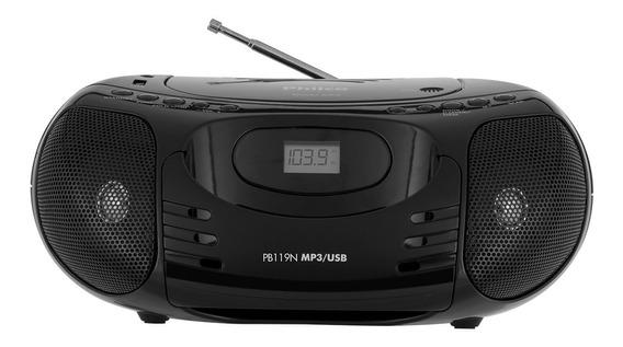 Radio Gravador Bombox Pb119n
