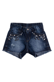 Shorts Jeans Juvenil Ak Denim Azul