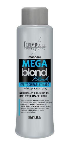 Forever Liss Mega Blond Black Máscara Matizadora 500ml
