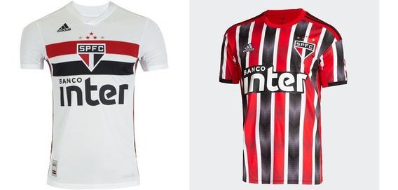 Kit C/2 Camiseta Blusa São Paulo Profissional Promoção 2019