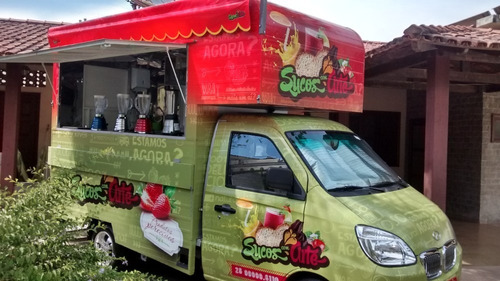 Food Truck Lifan  Modelos (montagem Sem O Veículo)