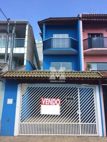 Imagem 1 de 12 de Sobrado Com 3 Dormitórios À Venda, 161 M² Por R$ 630.000,02 - Parque Renato Maia - Guarulhos/sp - So0228