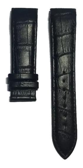 Pulseira Couro Preto Couturier T035.617 (somente O Couro)
