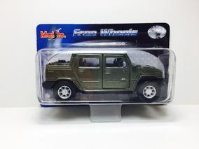 Miniatura Hummer H2 Sut Concept Verde 1/46 Maisto