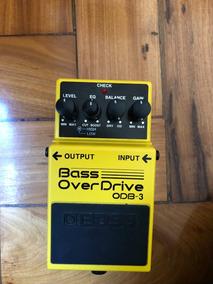 Pedal Boss Bass Overdrive - Odb-3