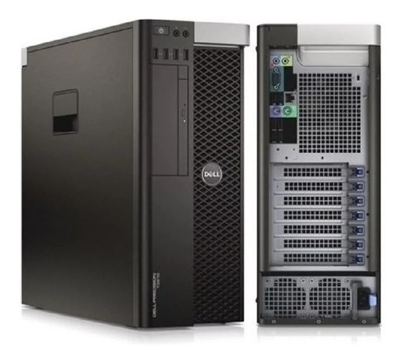 Workstation Dell T5810 + Xeon E5-1650 V + 64gb Ddr4 + Ssd480