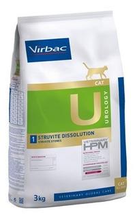 Alimento Virbac Hpm Cat Urology Struvite Dissolution 3 Kg