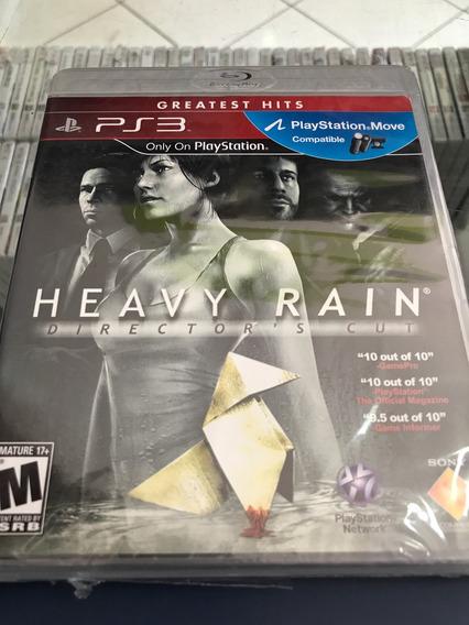 Heavy Rain Playstation 3 Lacrado. Sony Ps3