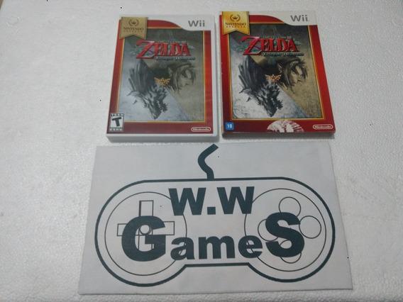 Nintendo Wii Zelda Twilight Princess - 100% Original Física