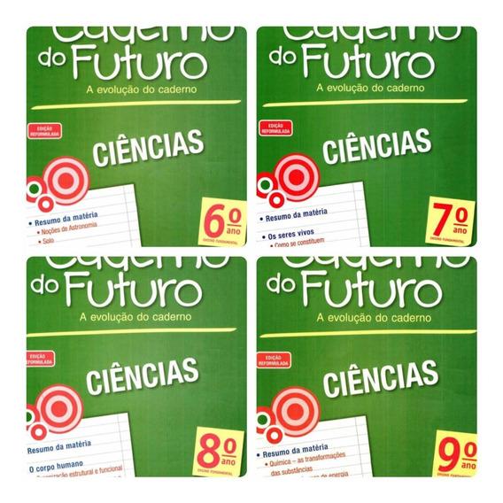 #80 Caderno Do Futuro Ciências 6 Ao 9 Do Aluno