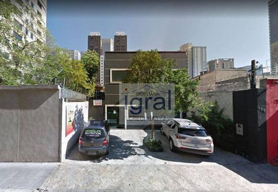 Salão Para Alugar, 150 M² Por R$ 4.000/mês - Cidade Monções - São Paulo/sp - Sl0045
