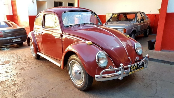 Volkswagen Fusca 1200 Vermelho 1966
