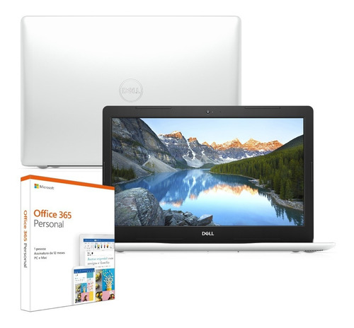"Notebook - Dell I14-3481-m200sf I3-7020u 3.20ghz 4gb 128gb Ssd Intel Hd Graphics 620 Windows 10 Home Inspiron 14"" Polegadas"