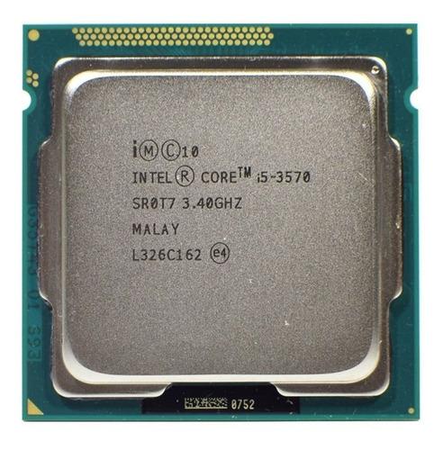 Imagem 1 de 4 de Processador Intel Core I5 3570 Lga 1155 3.4 C/pasta