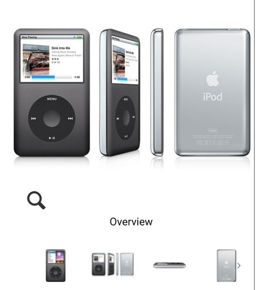 iPod Classic 160gb 7* Geração Troco Celular Mc297ll Ps4