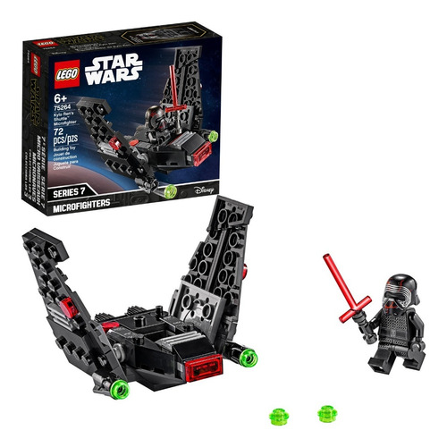Lego Star Wars 75264 Microfighter Shuttle De Kylo Ren 72 Ps