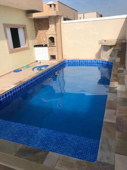 Casa Com Piscina Na Praia, Itanhaém Ref: 6871 D