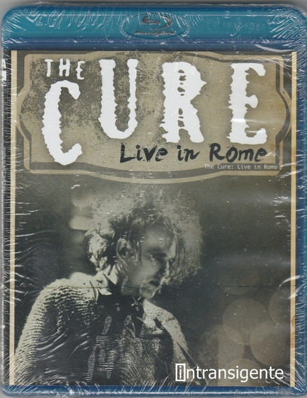 The Cure - Live In Rome 2008 (blu-ray Nuevo Y Sellado)
