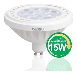Lámpara Led Ar111 15w Dimerizable Cálida Werke