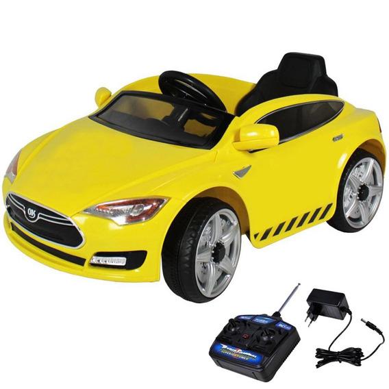 Carro Elétrico Infantil Sport Controle Amarelo 6v Belfix