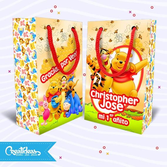 Winnie Pooh Bolsitas Golosineras Personalizada Pack X30